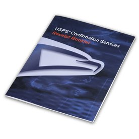 USPS Confirmation Services Receipt Book