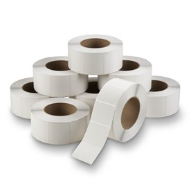 Thermal Transfer Labels 3 in. x 2.5 in. (3 rolls)