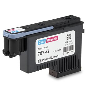 Cyan/Magenta Printhead for SendPro<sup>®</sup> P / Connect+<sup>®</sup> Series Mailing Systems