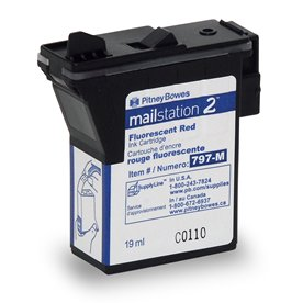 Red Ink Cartridge for mailstation2™