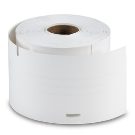 White Non-Adhesive Badge Labels