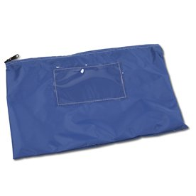 Blue Mail Pouch, 11 in. H x 16 in. W