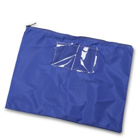 Blue Mail Pouch, 14 in. H x 18 in. W