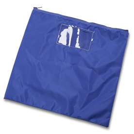 Blue Mail Pouch, 19 in. H x 20 in. W