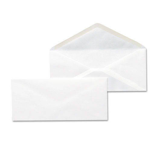 #10, Gummed, White Business Envelopes