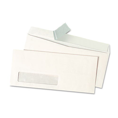 #10 Window, Peel Seal Strip, White Business Envelopes
