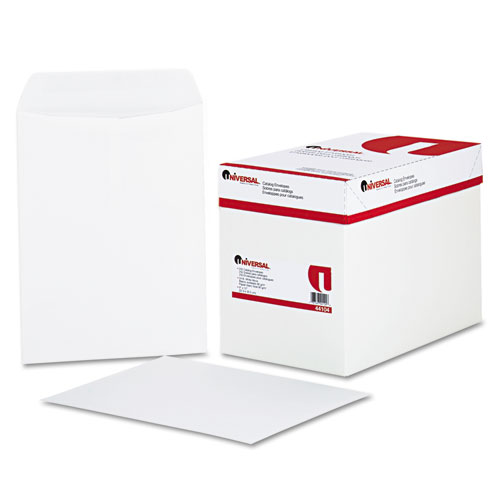 9 x 12, Gummed, White Catalog Envelopes