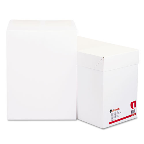 10 x 13, Gummed, White Catalog Envelopes
