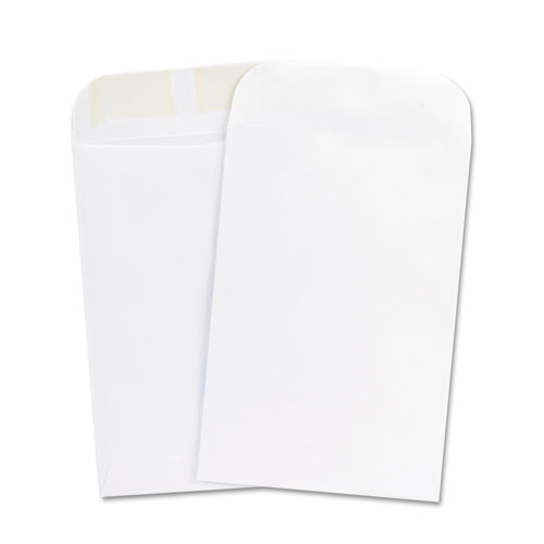 6-1/2 x 9-1/2 Gummed White Catalog Envelopes