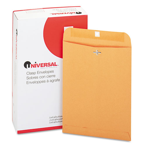 9 x 12, Gummed, Light Brown, Clasp Envelopes